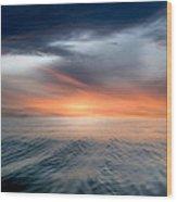Air And Water No.57 Wood Print