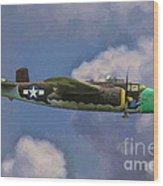 Air Apaches B-25j Wood Print