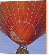 Air Balloon Festival In Igualada Wood Print