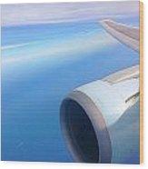 Air Canada Boeing 767 Wood Print