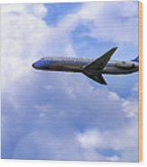 Air Force One - Mcdonnell Douglas - Dc-9 Wood Print by Jason Politte