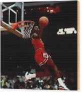 Air Jordan Reverse Slam Wood Print