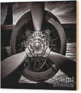 Air Power Wood Print