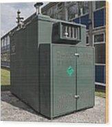 Air Quality Monitoring Station Wood Print