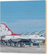 Air Show Thunderbirds  Wood Print