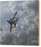 Air Superiority Wood Print