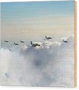 Airborne Division  Wood Print