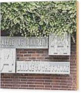 Airborne Monument In Arnhem Wood Print