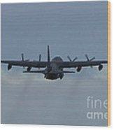 Airborne Wood Print