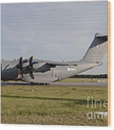 Airbus A400m For The French Air Force Wood Print