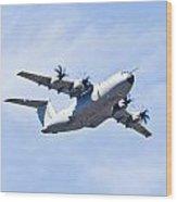 Airbus A400m Wood Print