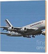 Airbus A80 Wood Print