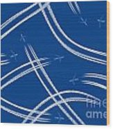 Airliners Gone Wild Wood Print