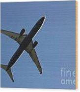 Airplane I Wood Print