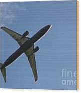 Airplane II Wood Print