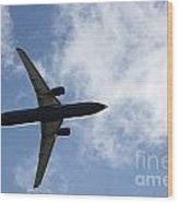 Airplane IIi Wood Print