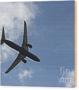 Airplane Iv Wood Print