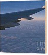 Airplane Wing Wood Print