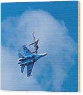 Airshow St Petersburg Russia Part 2 Wood Print