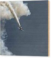 Airshow Wood Print