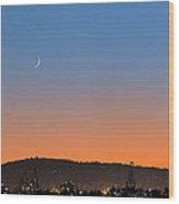Ajs Moonset Byu Denise Dube Wood Print