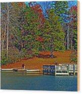 Ajsp Boat Ramp Wood Print
