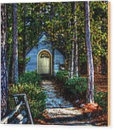 Ajsp Chapel Dry Brush Wood Print