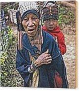 Akha Tribe II Wood Print