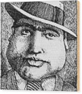 Al Capone 1931 Wood Print