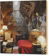 Al Capone's Cell Wood Print