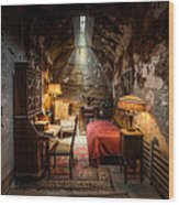 Al Capone's Cell - Historical Ruins At Eastern State Penitentiary - Gary Heller Wood Print