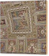 Al Fresco Ceiling Wood Print