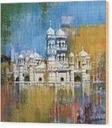 Al Haadi Al Sufi Mosque Wood Print