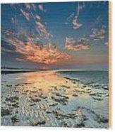 Al Hamra Sunset Wood Print