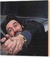 Al Pacino @ Carlito's Way Wood Print