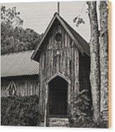 Alabama Country Church 3 Wood Print