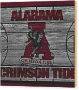 Alabama Crimson Tide Wood Print by Joe Hamilton