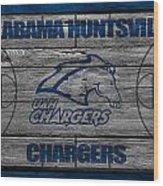 Alabama Huntsville Chargers Wood Print