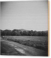 Alabama Mountains 4 Wood Print