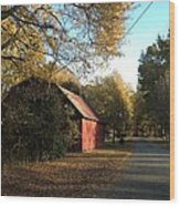 Alabama Red Wood Print by Don F  Bradford