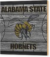Alabama State Hornets Wood Print