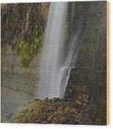Alabama Waterfall Wood Print