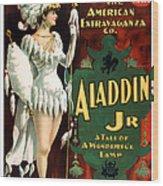Aladdin Jr Amazon Wood Print