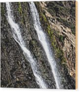 Alamere Falls Two Wood Print by Garry Gay