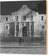 Alamo In Texas  Wood Print