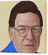Alan Bachman Wood Print