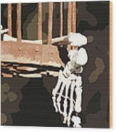 Alas Poor Yorik Wood Print