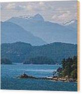 Alaska 0830 Wood Print