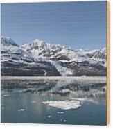 Alaska Calm Bay Wood Print