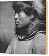 Alaska Eskimo Man, C1906 Wood Print